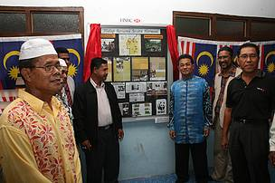 An event held in Jeli, to launch the 'Living Together in Harmony' project