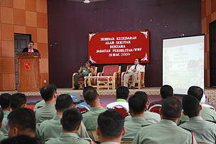 The second 'Defenders of Nature Programme', which was held to educate army officers about wildlife conservation
