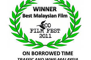 The documentary 'On Borrowed Time' won first place in the Eco Film Fest 2011
