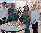 Cake cutting ceremony during the MoA signing