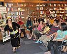 Graceful cultural dance performance by Rigo Dawat from Ba' Kelalan, Sarawak during a book reading in Bangsar, Kuala Lumpur.