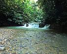 One of the pristine rivers in Upper Baleh that feeds Malaysia's longest river, Rajang.
