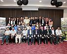 Workshop participants posing for a group photo with Tuan Haji Sapuan (seated fifth left).