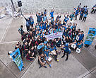 Participants and volunteers from HSBC Water Programme.