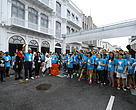 The run started with the flag-off by YB Phee Boon Poh, Penang State Exco for Environment, Welfare and Caring Society.