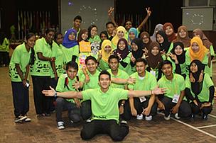 Politeknik Seberang Perai (PSP) students raised RM1,050 through EH2013 pledge and surveys.