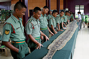 Army Workshop, Jeli, Kelantan, Malaysia